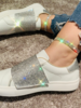 Crystal Triple Ankle Bracelet