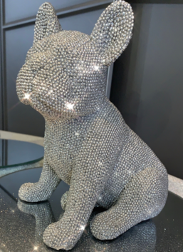 Sparkly Diamante Sitting French Bulldog